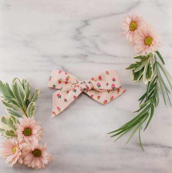 Lavender and Lillie - Jumbo Bow - Strawberry Blush