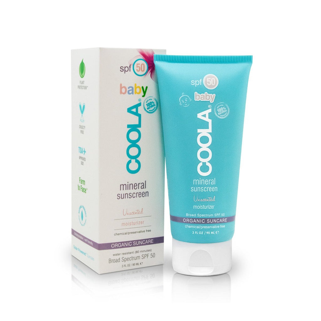 COOLA - Mineral Baby Organic SPF50 Unscented