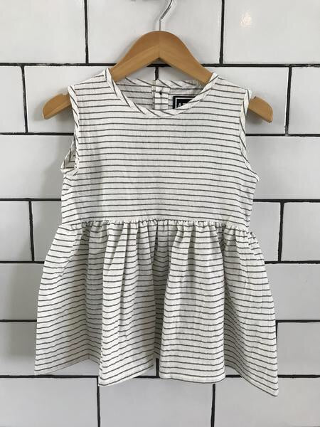 Atilla and Co . - Tulli Dress White Stripe