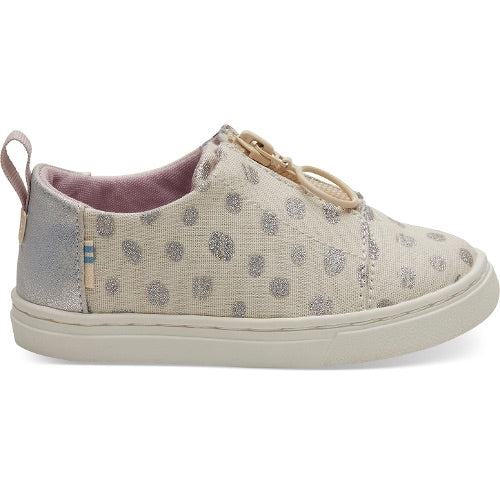 TOMS - Lenny Natural Metallic Torn Dots