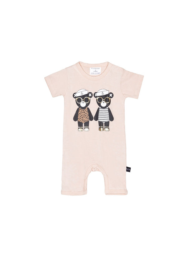 Hux Baby - Twin Short Romper