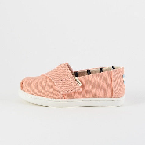 TOMS - Coral Pink Heritage Canvas