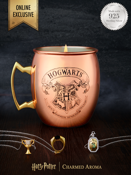 Harry Potter Copper Mug - 925 Sterling Silver Horcrux Necklace Collection