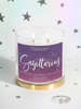 Sagittarius Candle - Zodiac Ring Collection