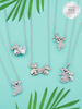 Koala Candle - 925 Sterling Silver Koala Necklace Collection