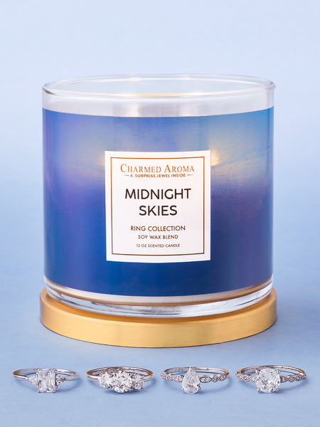 Midnight Skies Candle - Ring Collection