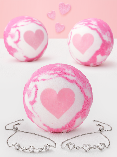 Sweetheart Bath Bomb - Bracelet Collection
