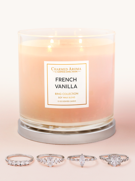French Vanilla Candle - Ring Collection
