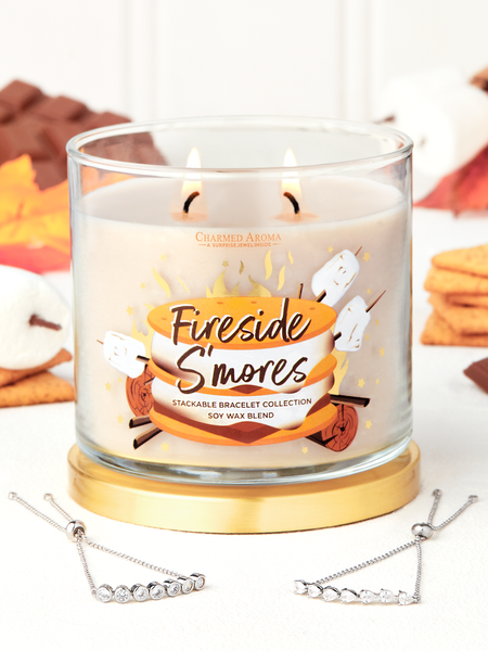 Fireside S'mores Candle - Bracelet Collection