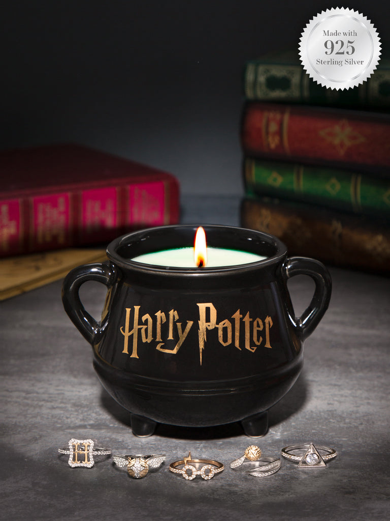 Bougie de Chaudron Harry Potter - Collection de Bagues Arts Sombres (Revenant Bientôt)