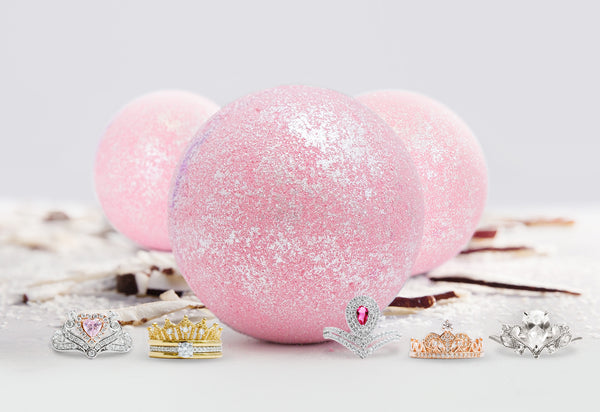 Bombe de bain Princesse Couronne - Collection Bague Couronne