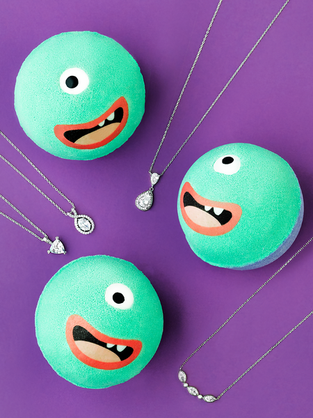 Monster Bath Bomb - Necklace Collection