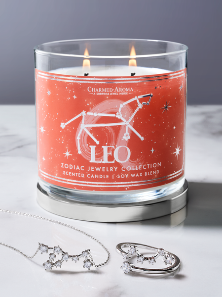 Leo Zodiac Candle - Leo Jewelry Collection