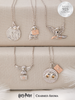 Harry Potter Hedwig Owl Candle - 925 Sterling Silver Hedwig Owl Necklace Collection