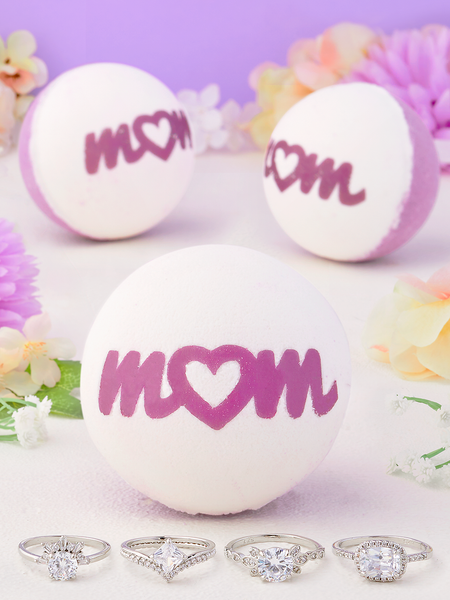 Mom Bath Bomb - Ring Collection