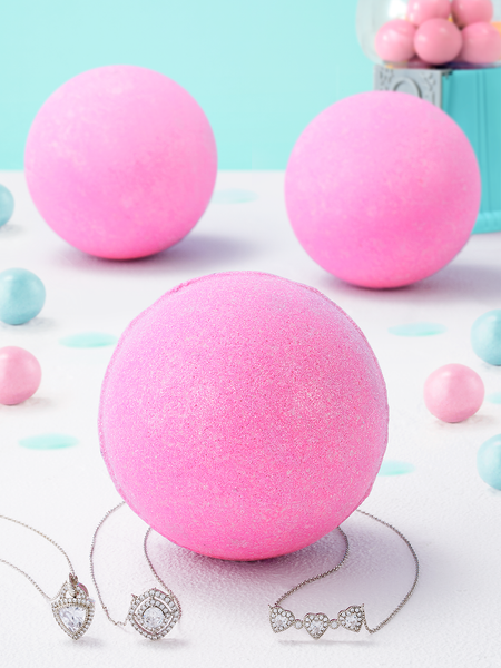 Bubblegum Bath Bomb - Necklace Collection