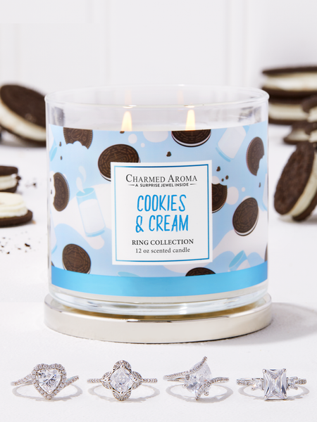 Cookies & Cream Candle - Ring Collection