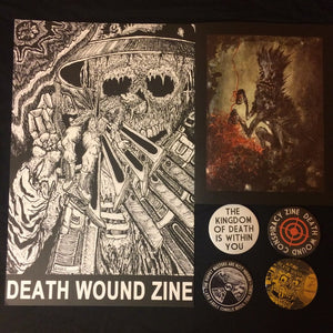 DEATH WOUND ZINE - CONSPIRACY ISSUE