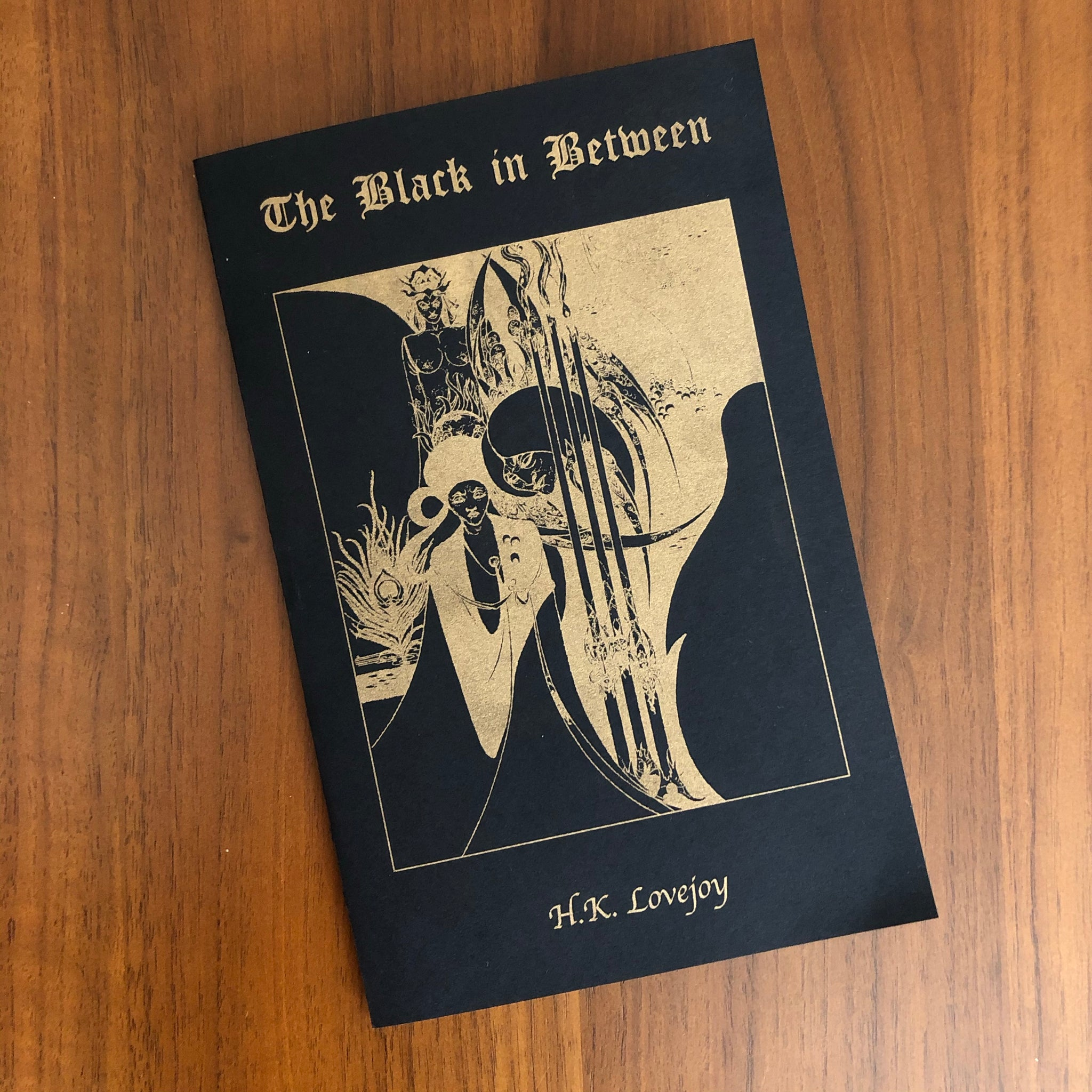 The Black in Between by H.K Lovejoy