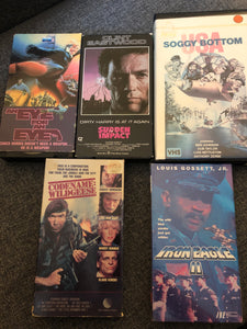 Action and adventure - 5 movie pack