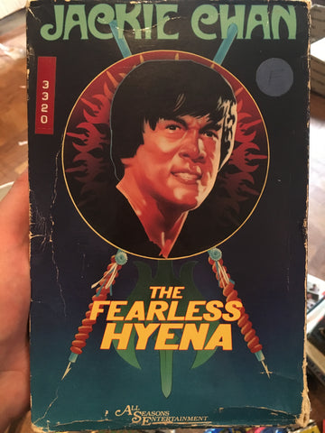 The Fearless Hyena - big box