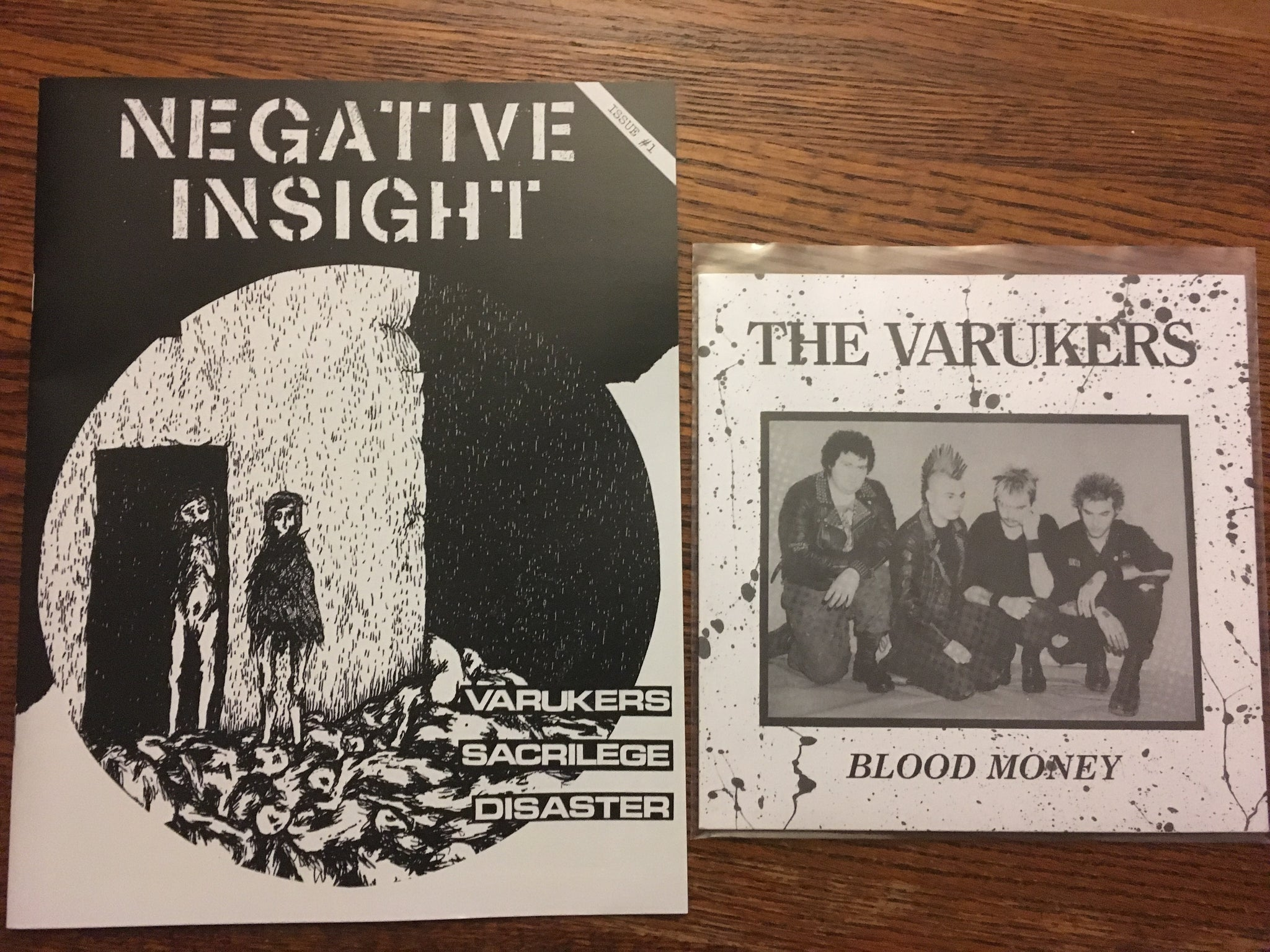 "Negative Insight 1 + Varukers 7"" EP"