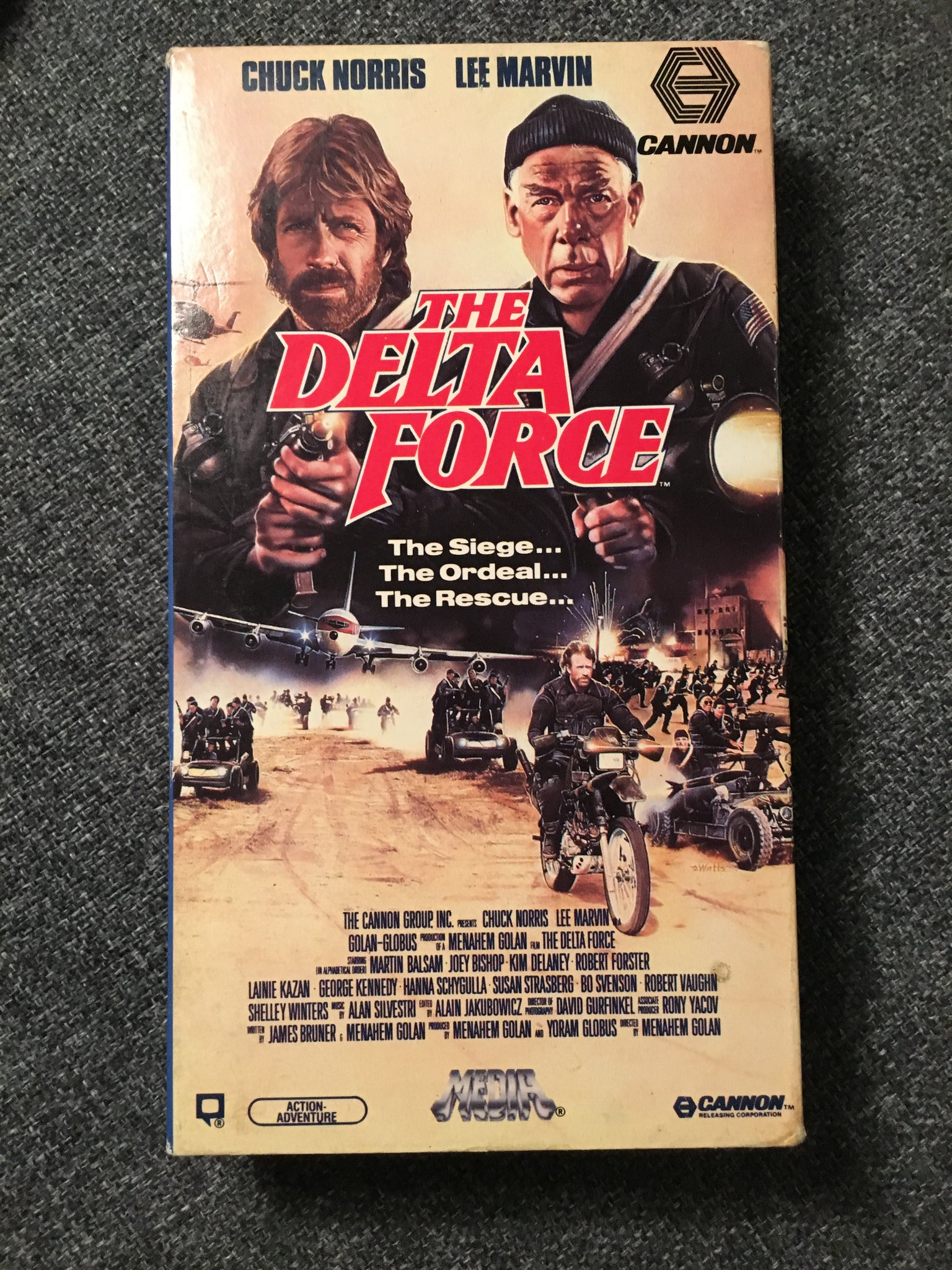 The Delta Force - Media / Cannon