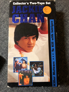 Jackie Chan Two Tape set