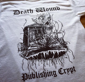 Death Wound Publishing Crypt t-shirt