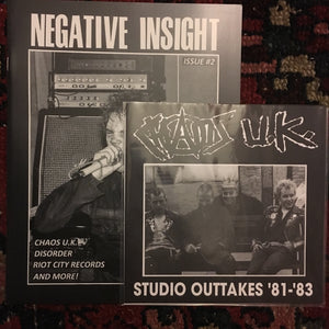 Negative Insight #2 + Chaos UK 7""