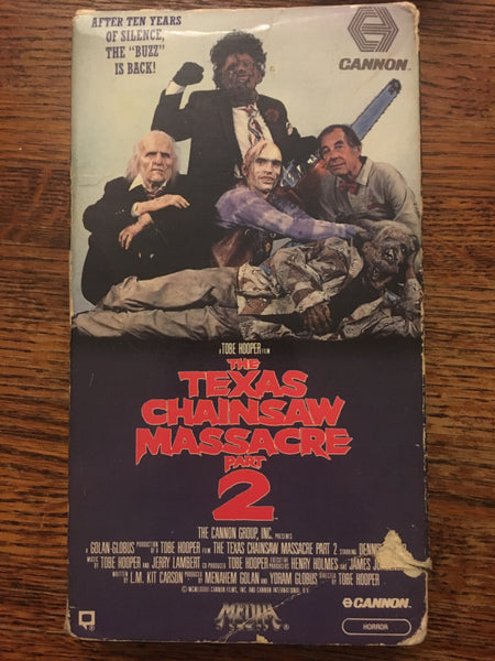 Texas Chainsaw Massacre 2 - Media