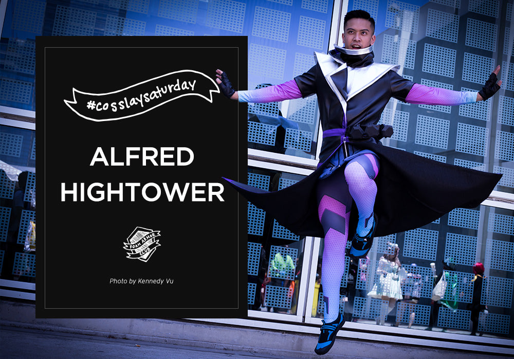Alfred Hightower Sombra Cosplay