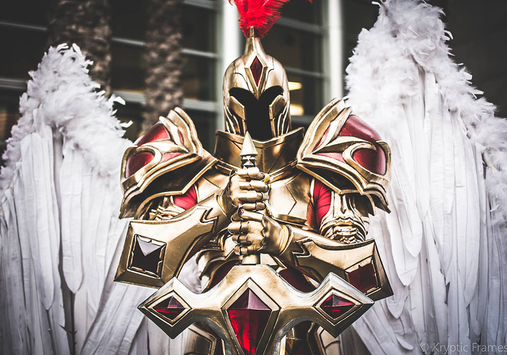 Kayle Cosplay Biser Builds