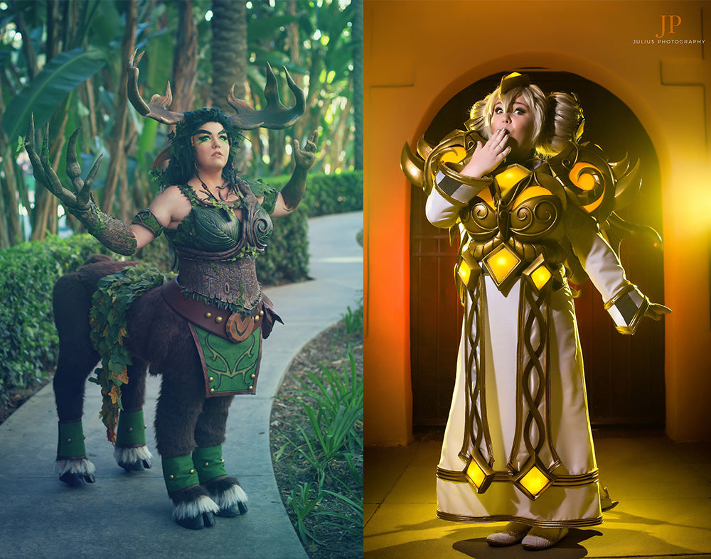 Cenarius and Master Chromie Cosplay by Little Sparkz