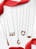 Garnet Birthstone Set - Garnet Ring & Necklace Collection