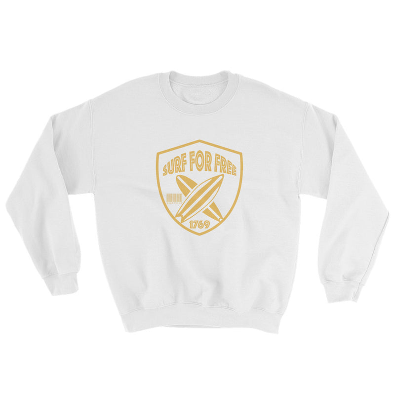 Surf For Free Crew Neck