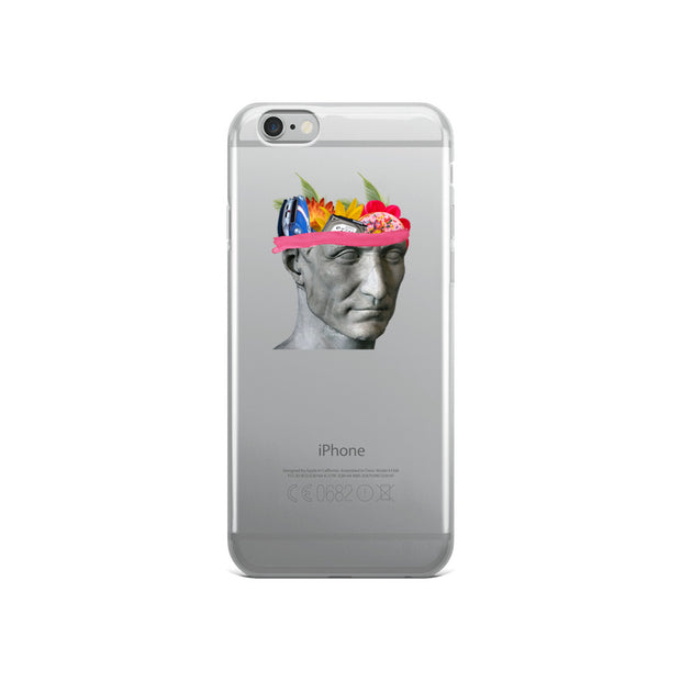 Talking Head iPhone Case