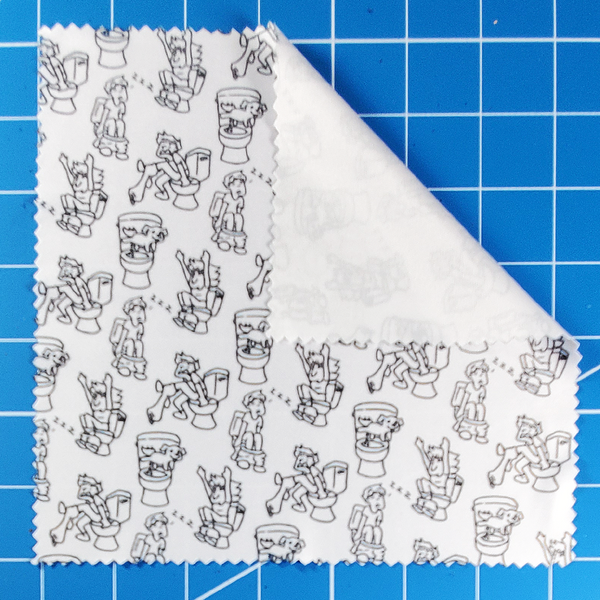 Cute Poops Cleaning Cloth