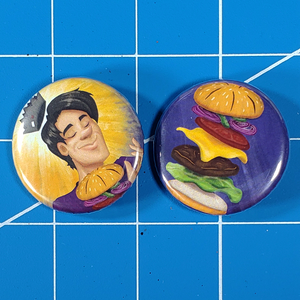 Juggie Burger Buttons