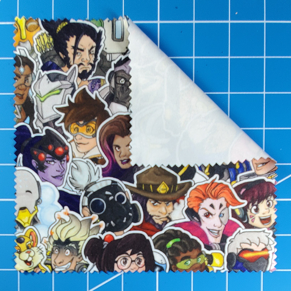 Pick Your Mains Cleaning Cloth