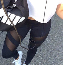 Mesh slit leggings - voyage Athletics