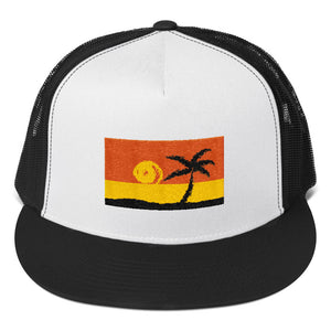 Island Trucker Cap - voyage Athletics