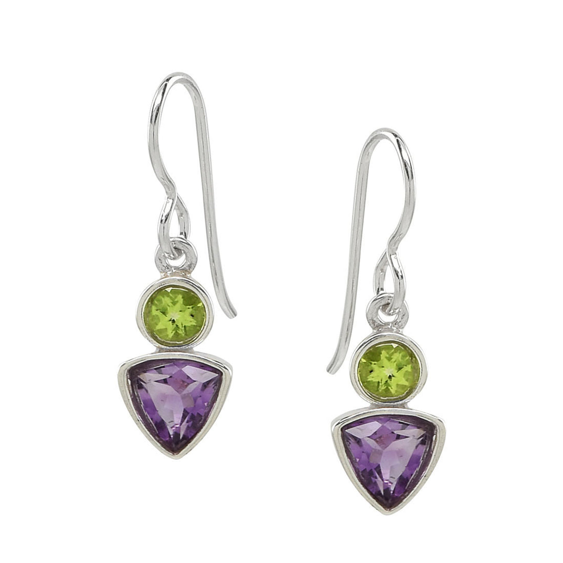 Amethyst and Peridot