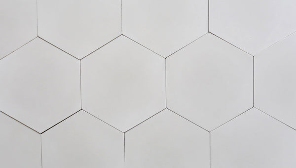Cement Hexagon Light Grey