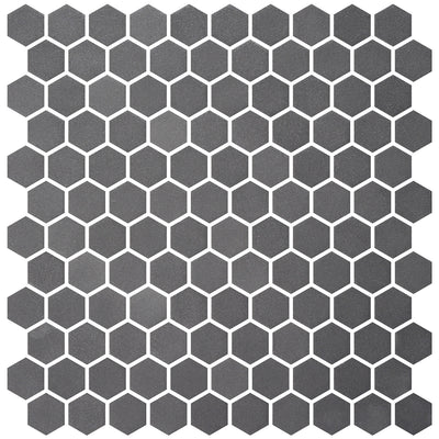 Stone Glass Hex Grey