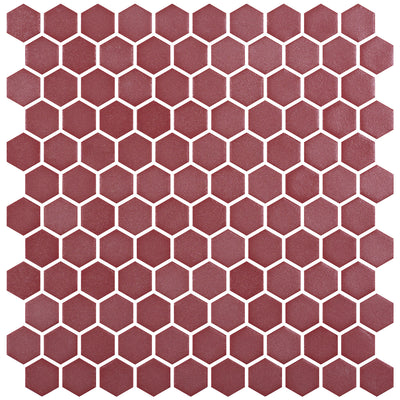 Stone Glass Hex Russet