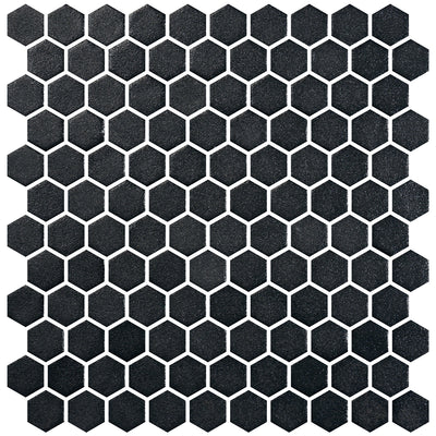 Stone Glass Hex Black