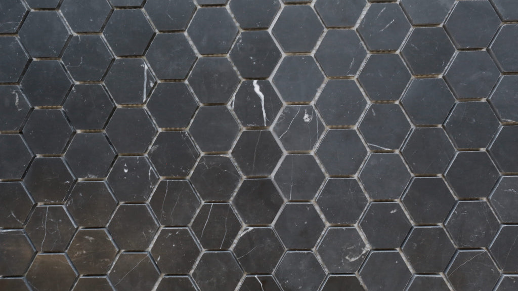 Nero Marquina 50mm Honed