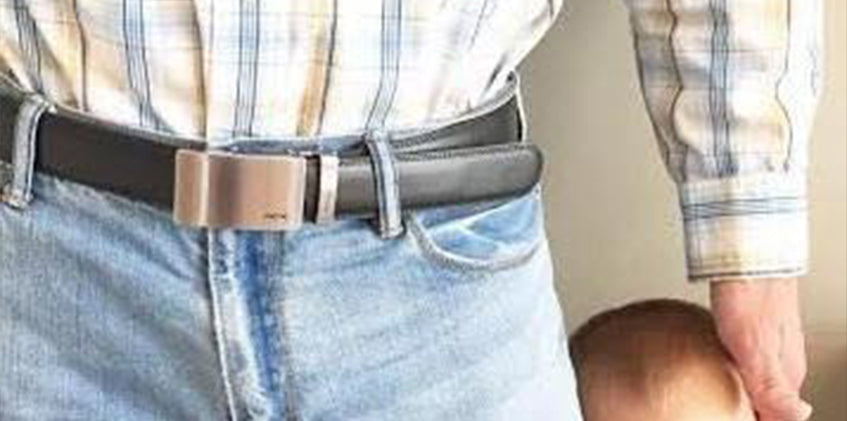 Micro-Adjustable Ratchet Belts For Dad
