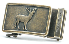 WESTERN | BRONZE DEER Buckle